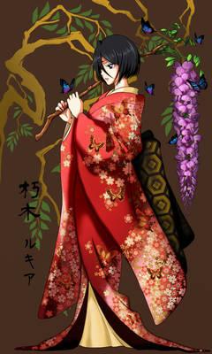 Kuchiki rukia Huji-Musume