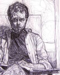 Pen - Self Portrait by A-Fool