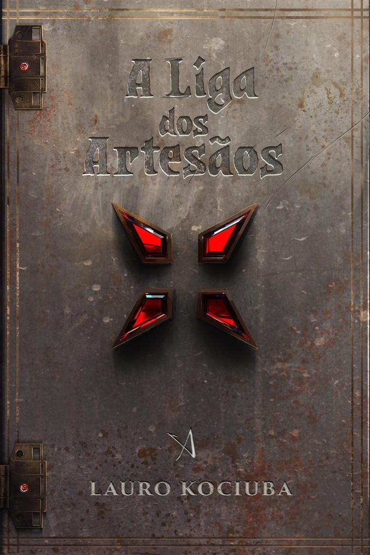A liga dos Artesaos - book cover by KyOliver