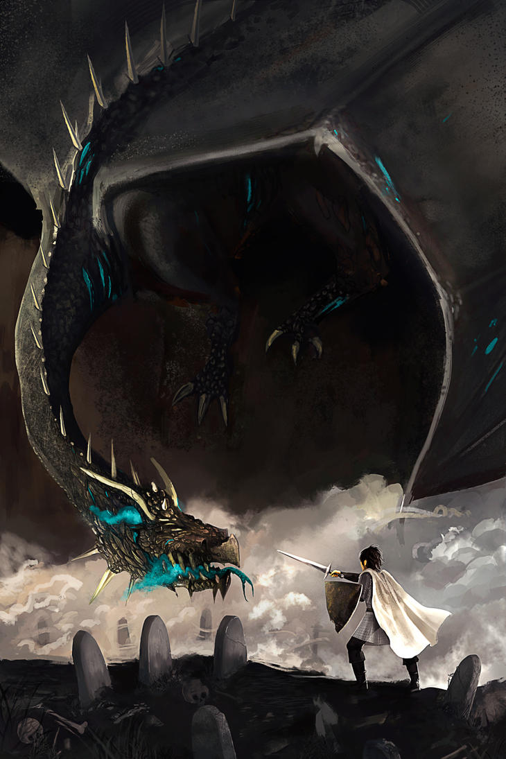Undead and dragons by KyOliver