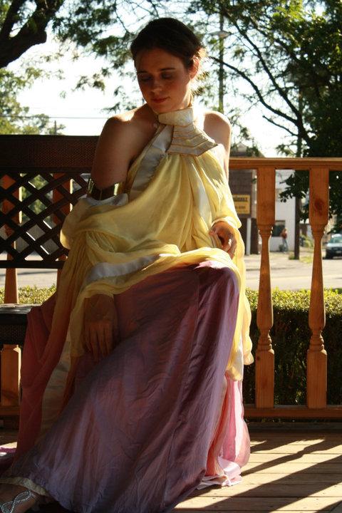 Padme Lake Dress cosplay by kwills84 on DeviantArt