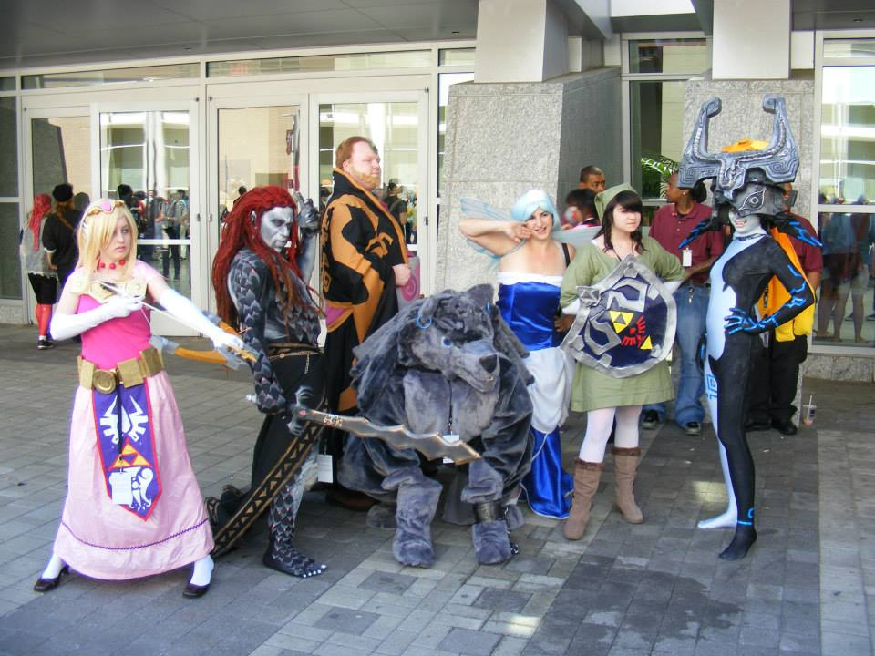 Zelda Group - Animazement 2013 by kwills84