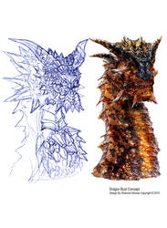 Dragon Bust Concept by Lee99