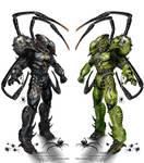 Multiform-Arachnid Berserker color variations