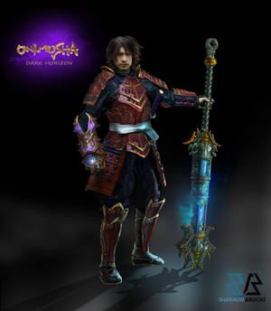 Samanosuke-original armor design by Lee99