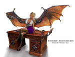 Commission-Everleen the Succubus