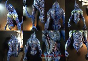 Vile Guyver Model kit-Painting Progress-02