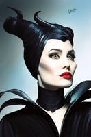Maleficent by NarineFox