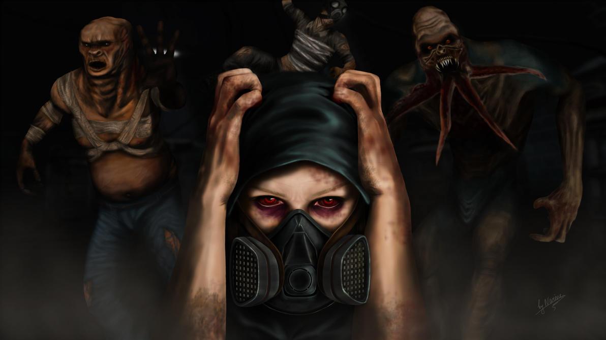 S.T.A.L.K.E.R. - LAST BREATH by NarineFox