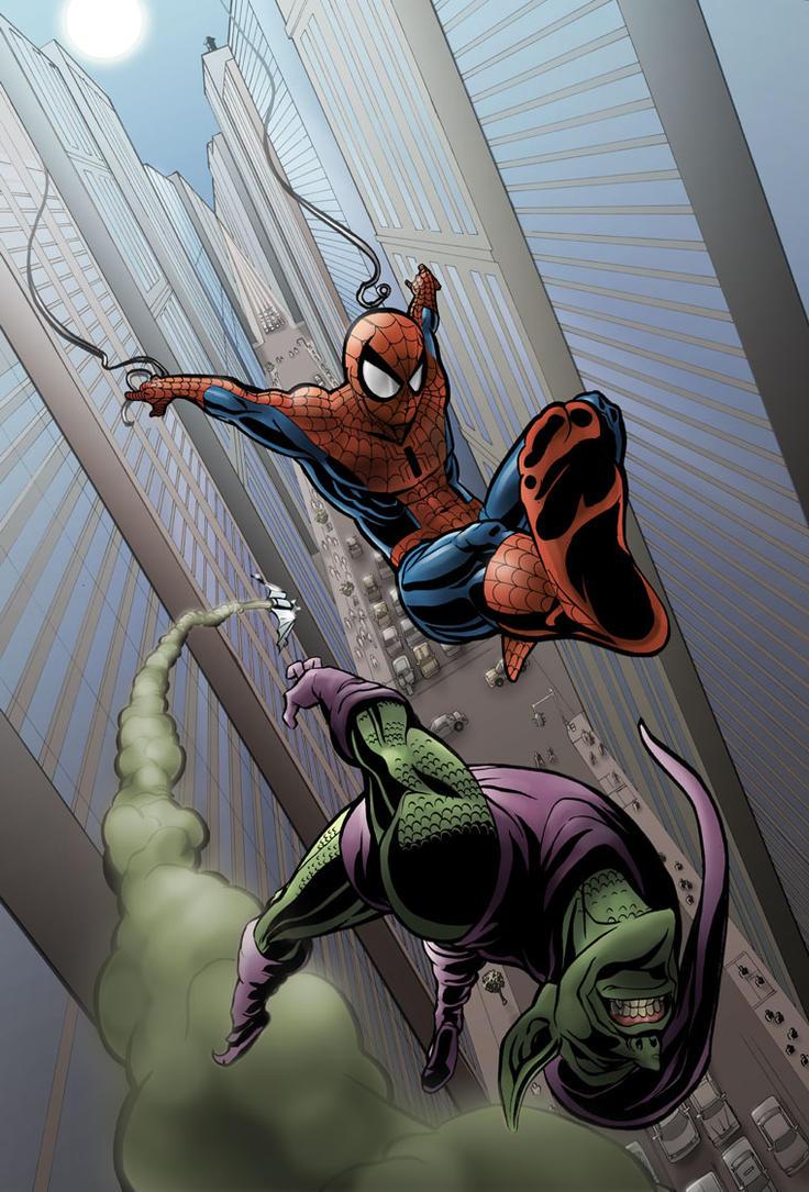 Spider-man - Kickin' it by wannabegeorge