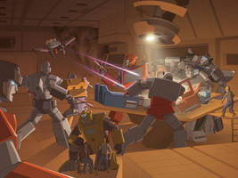 Transformers: Divide + Conquer