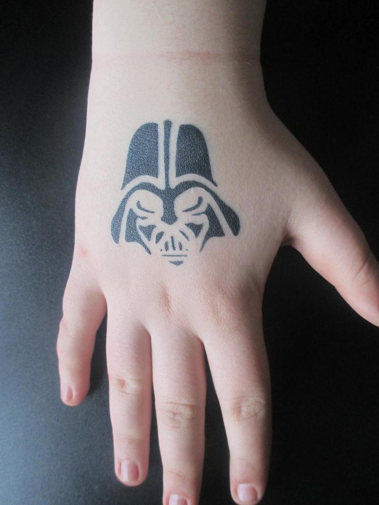 Darth Vader Airbrush Tattoo by SarahMelodyRose on DeviantArt