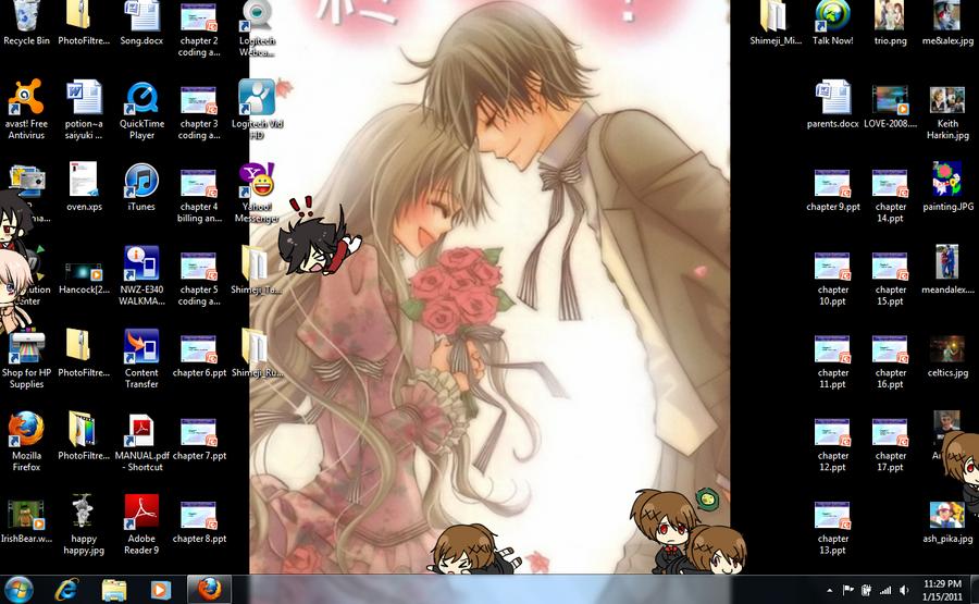 desktop Shimeji by Alice-Goku