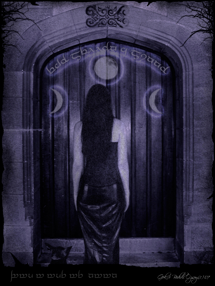 witch at the gates by gokceyazin
