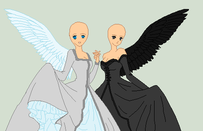 angels base with clothes by truelycute