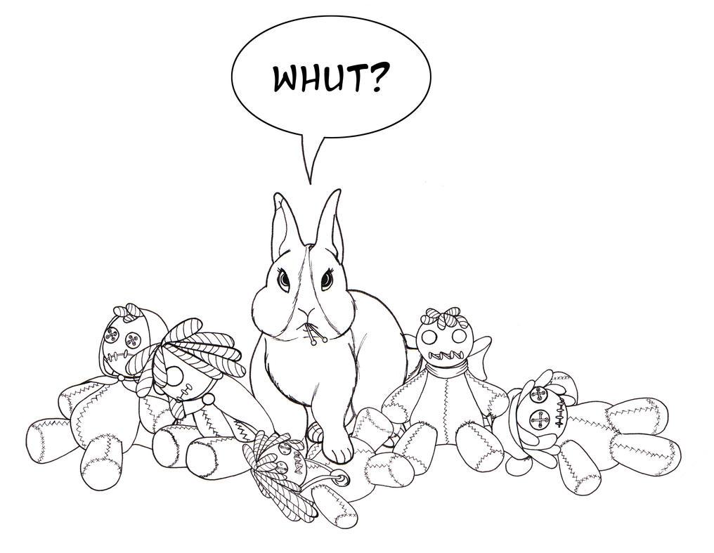 Vudu Bunny by Khthonia
