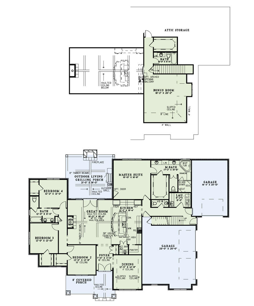 Lilli house plan by Khthonia