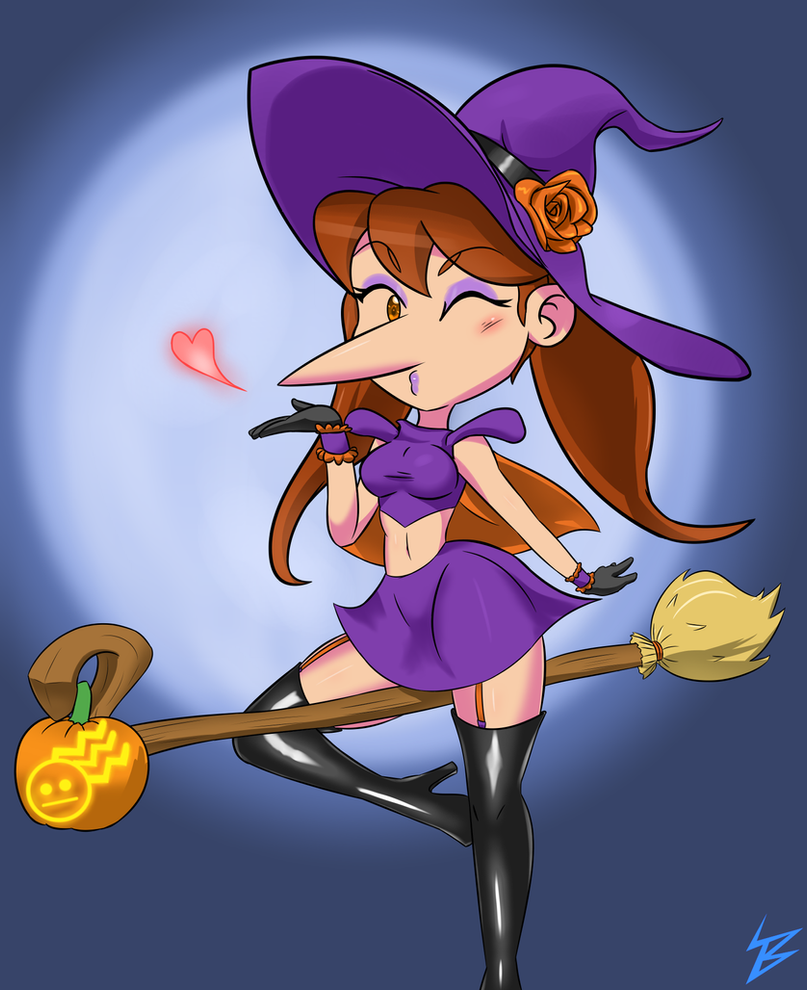 Witch Linda by BlueBolt77