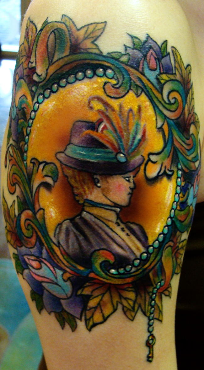 Victorian victoria by iamvalo on deviantart for Tattoo shops anderson indiana