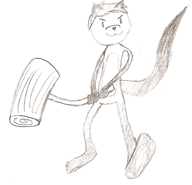 Hammer doodle by dragonparty1