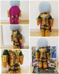 Mysterio Plushie by LittleFreaky13