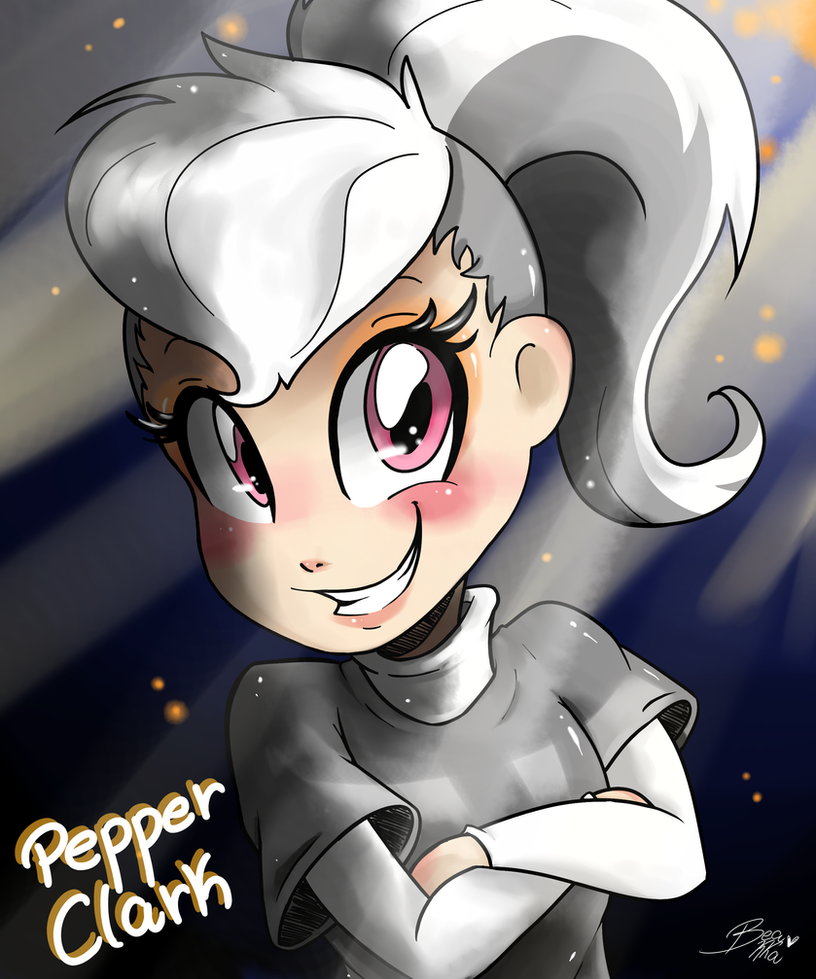LPS Pepper Clark (Human Version) by Beakka on DeviantArt