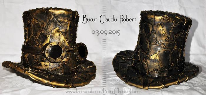 Steampunk top hat - Robert Bucur