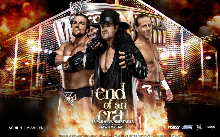 End Of An Era: Triple H vs Undertaker WM28 by i-am-71