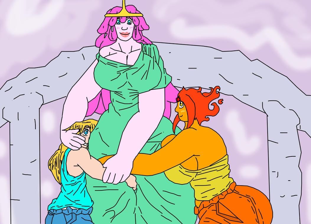 Polyamorous Flumblegum for Aslan1 by hvk