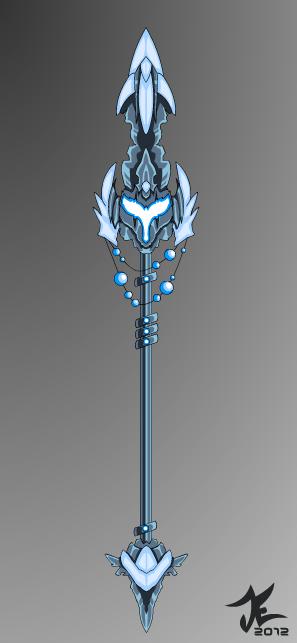 Aquas Ascension Lance by TrizkialEnigma
