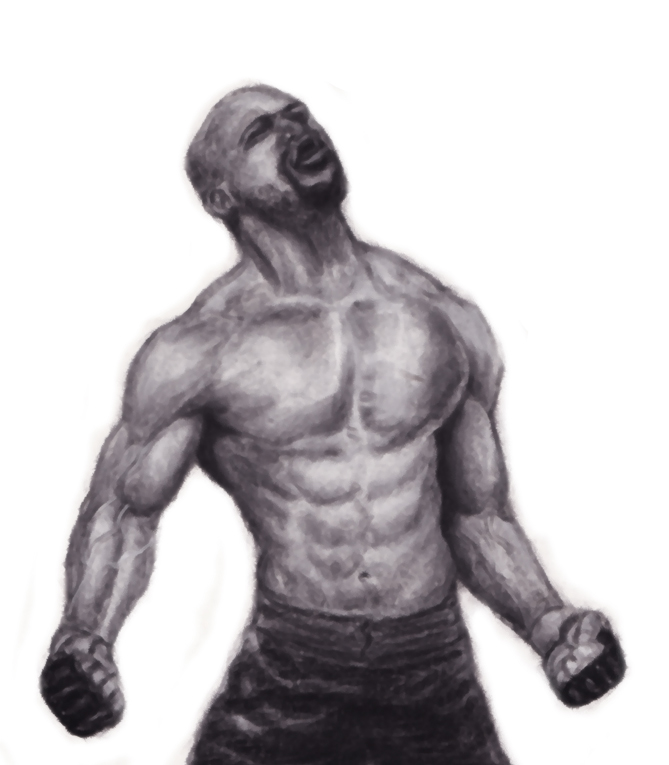 UFC Rampage Jackson Hollow by Ufc Drawings