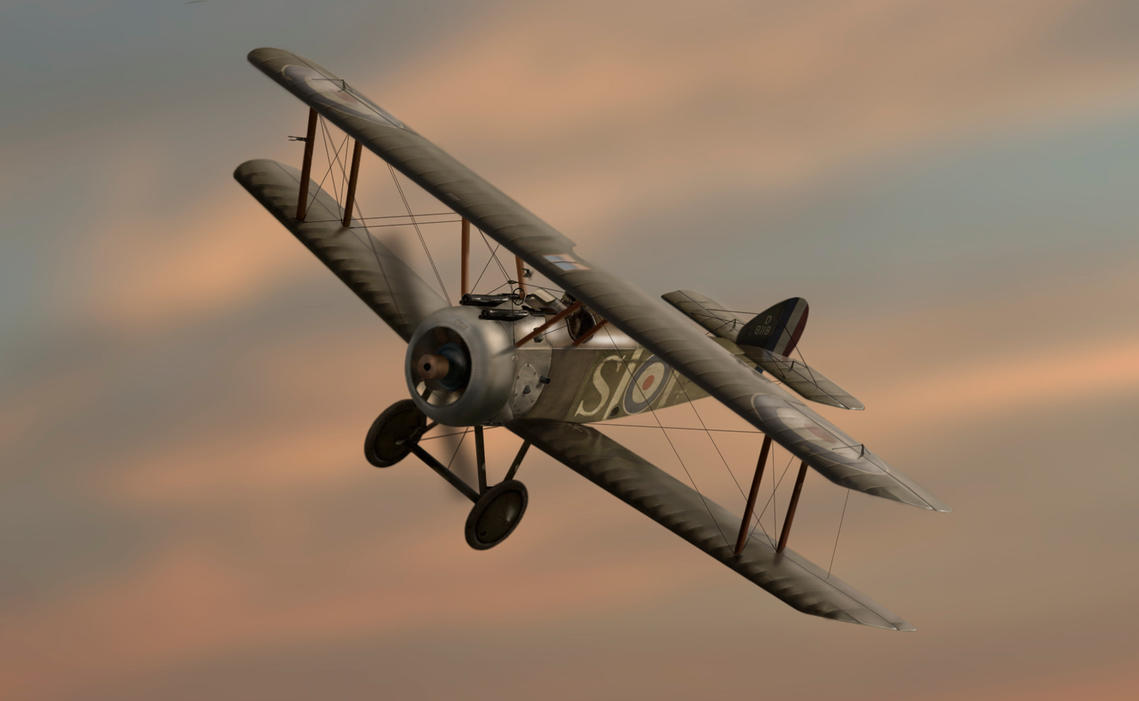 Sopwith Camel by itifonhom