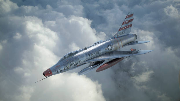 Cold War Super Sabre