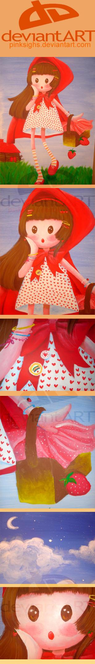 Details of Caperucita Roja