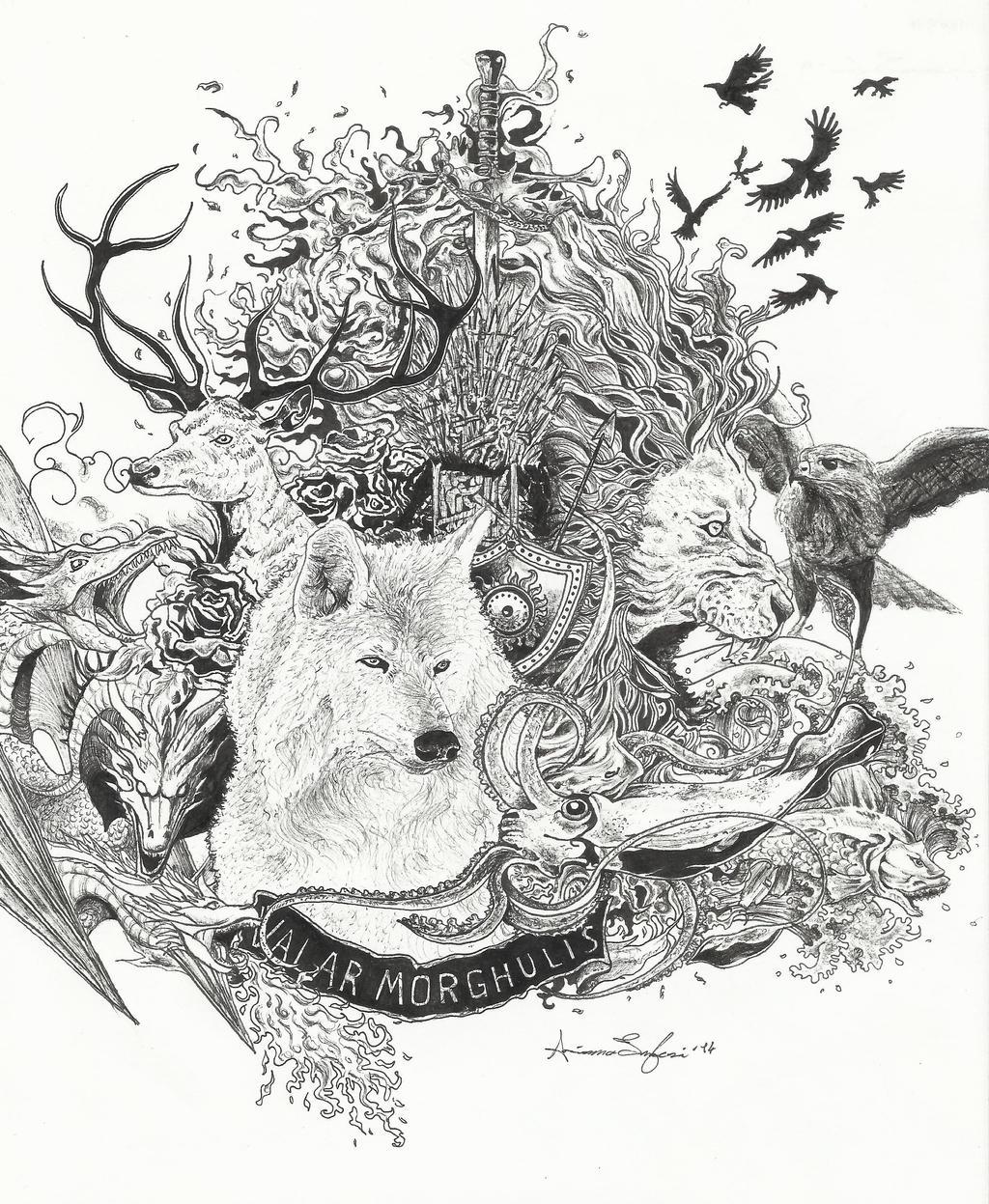 Valar Morghulis by d-r...