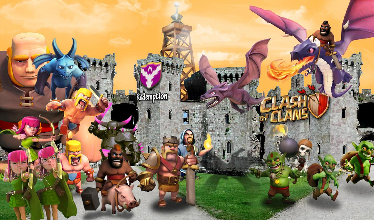Clash of Clans Wallpaper HD by NotoriouskingWizard Clash Of Clans Wallpaper