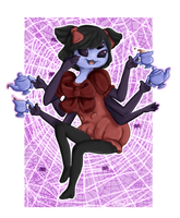 May I have this spider dance with you? by AliKitKat