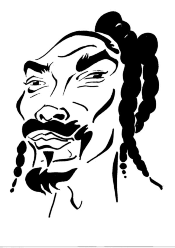 snoop dogg coloring pages | Snoop Dogg Drawings Pages Coloring Pages