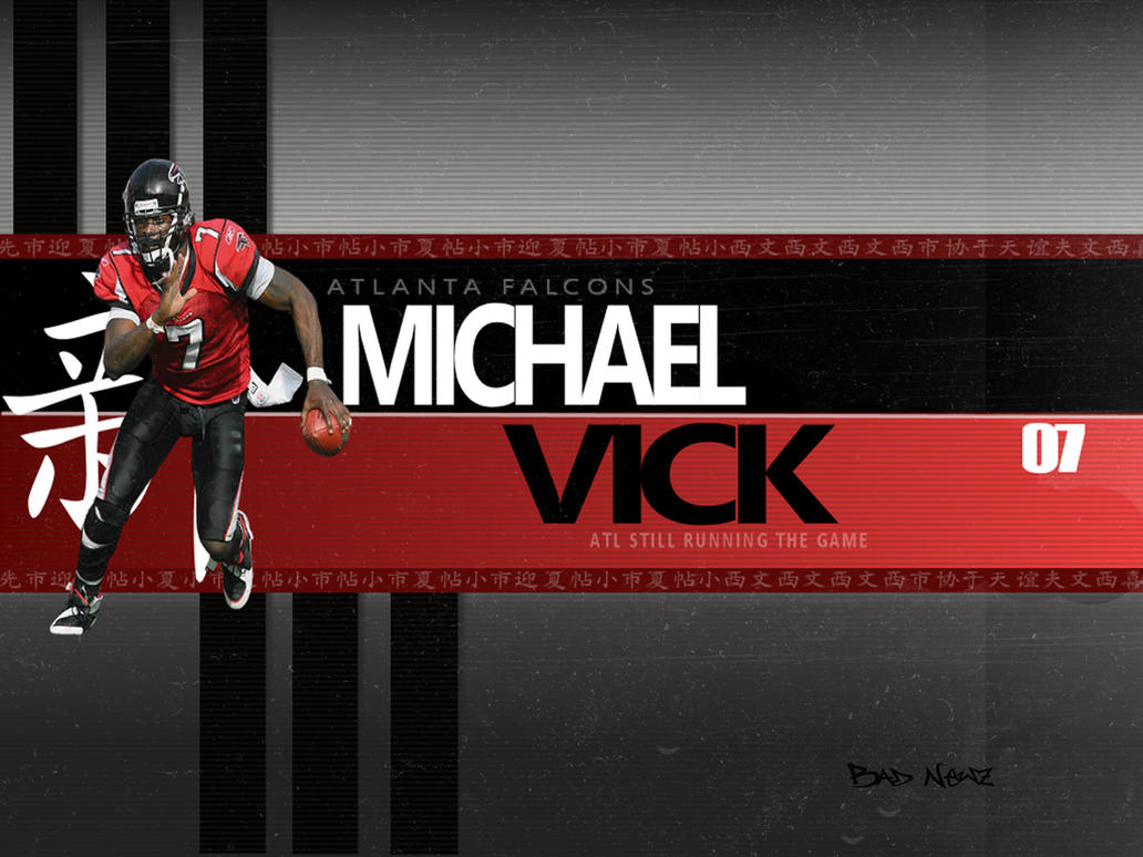 Atlanta Falcon Wallpapers Group 60: Michael Vick Wallpaper By Audacity341 On DeviantArt