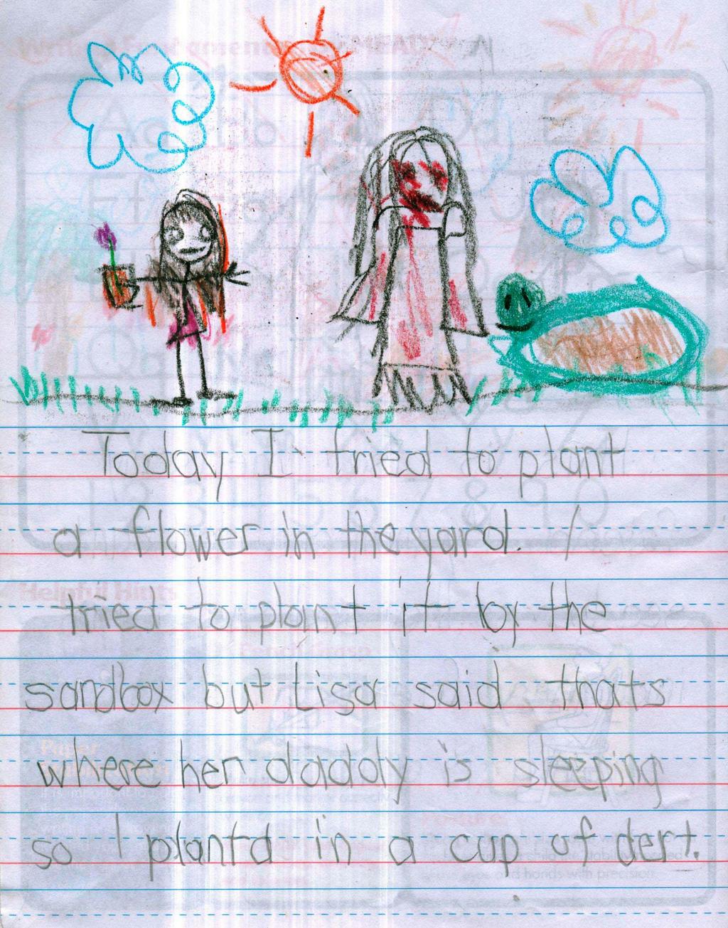 Creepiest Drawings Made By Kids