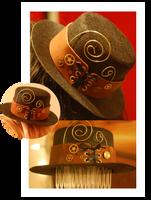 Mini Steampunk Top Hat by OcularFracture