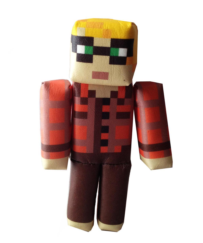 Minecraft Custom Skin Plush by OcularFracture