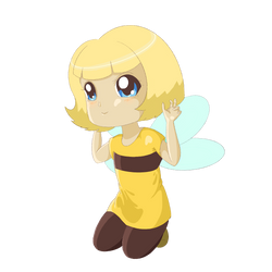 Ivy the Bumblebee by OcularFracture