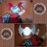for the series my crafts golbat by davediamante