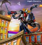 Dragon Grendizer by davediamante