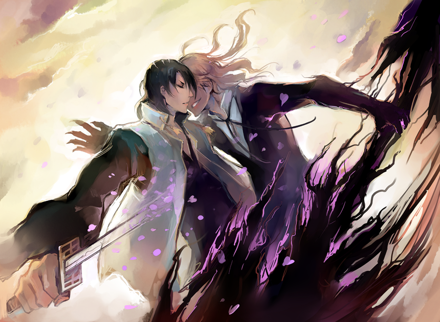 Noblesse and Bleach crossover by Sawitry