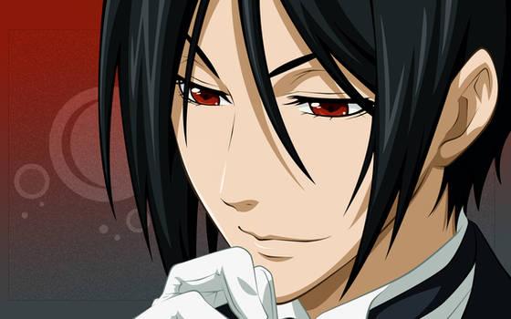 His Butler, contemplating.