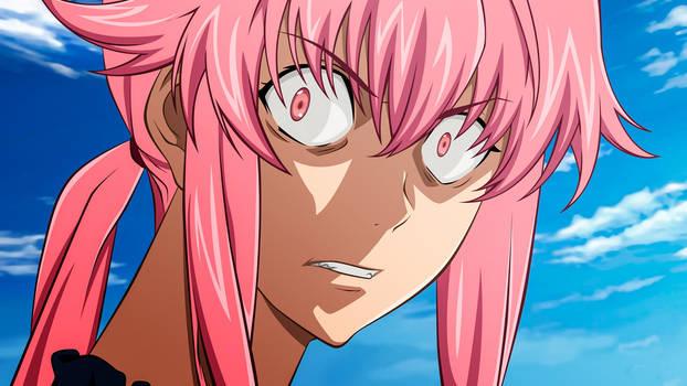 You said WHAT?! [Yuno Gasai - Mirai Nikki]