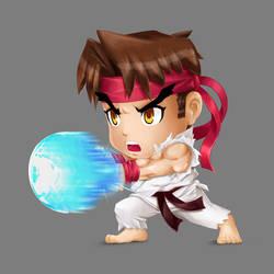 Chibi StreetFighter Ryu