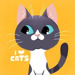 I love cats 1